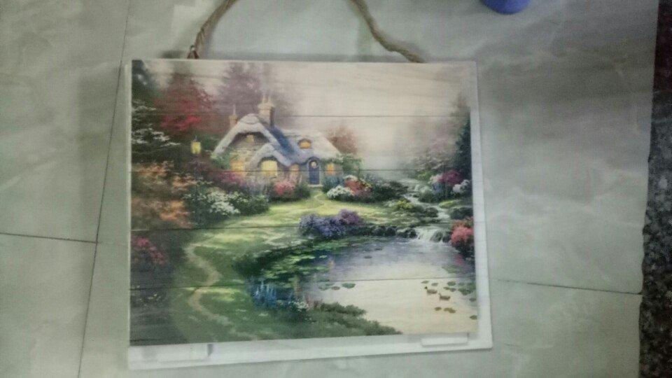 In tranh trên gỗ